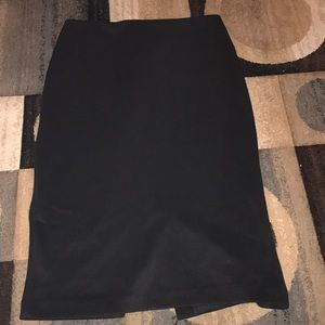 New York & co. Black skirt